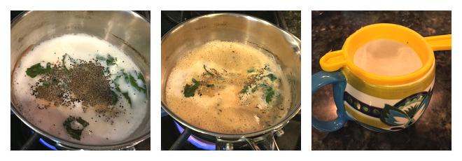 Basil Ginger Chai Recipe-Step-2