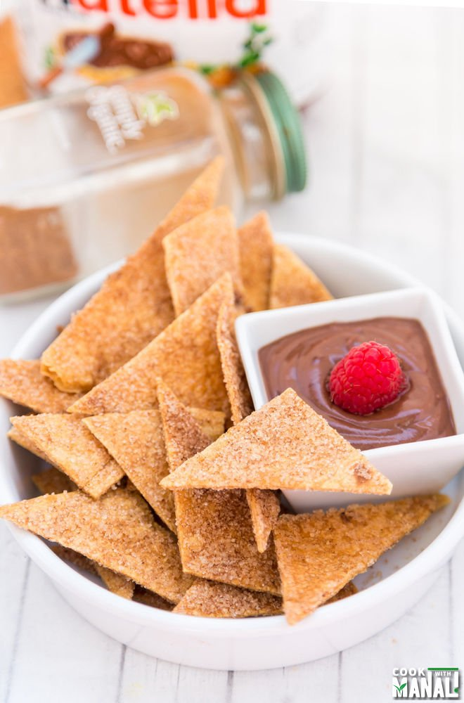Cinnamon Sugar Tortilla Chips