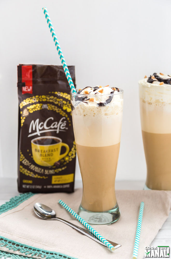 Frappuccino Dulce De Leche With McCafe Coffee