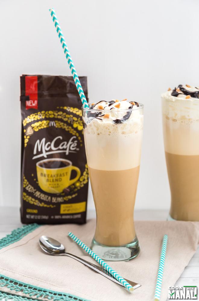 Frappuccino Dulce De Leche With McCafe Coffee
