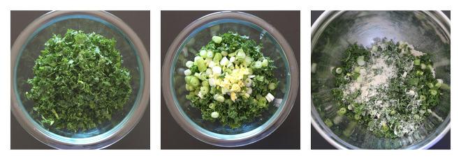 Kale Paratha Recipe-Step-1