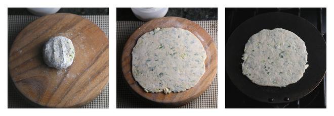 Kale Paratha Recipe-Step-3