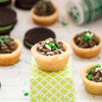 Mint Oreo Cookie Cups