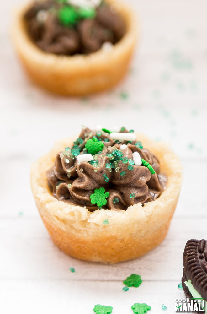 Oreo Cookie Cups Mint