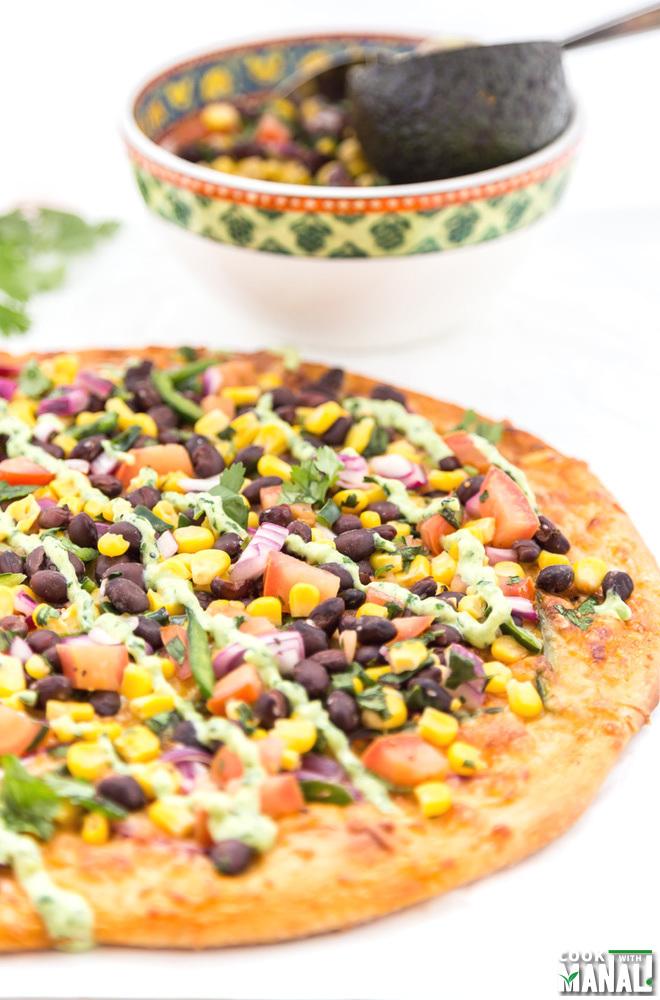 Chipotle Pizza
