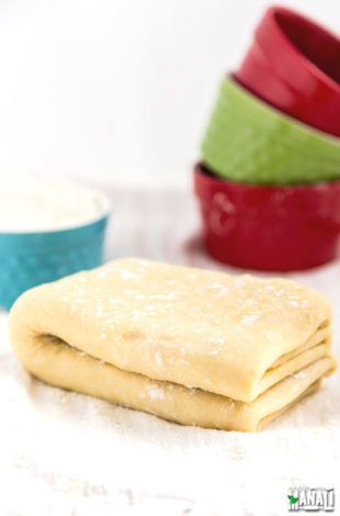 Easy Puff Pastry Dough