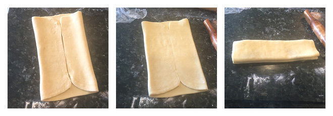 Easy Puff Pastry Recipe-Step-4