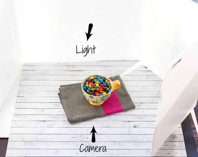 Food Photography Back Lighting