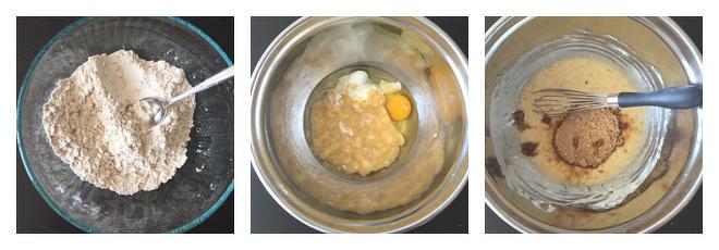 Healthy Banana Oat Muffins-Recipe-Step-1