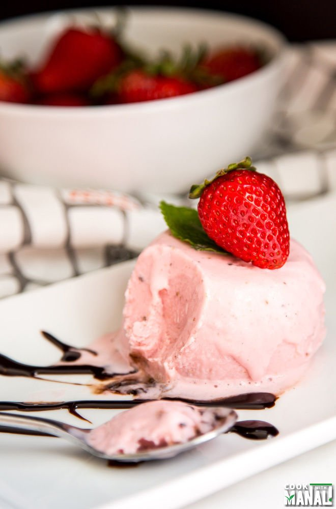 Indian Strawberry Kulfi