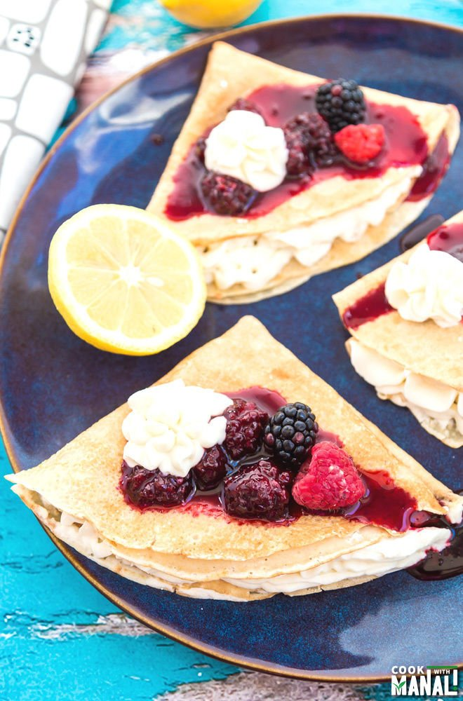 Lemon Crepes Recipe