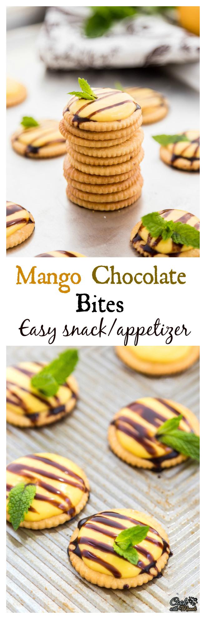 Mango Chocolate Bites Collage-nocwm