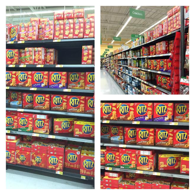 RITZ® Crackers in Walmart