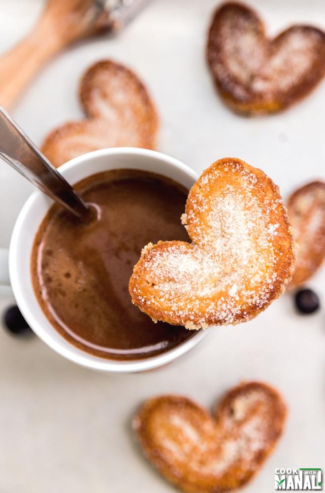 Sugar Palmier Pastry