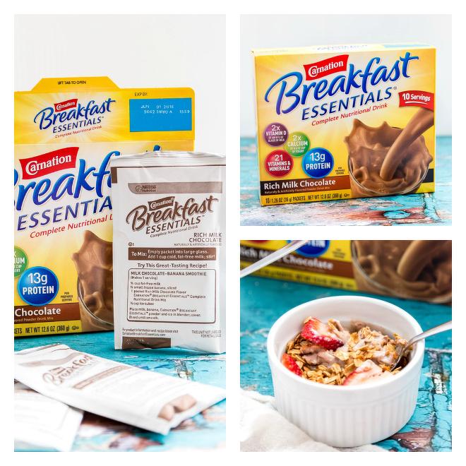 Carnation Breakfast Essentials Granola Yogurt Bowl