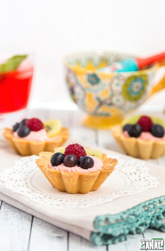 Easy Mini Fruit Tart