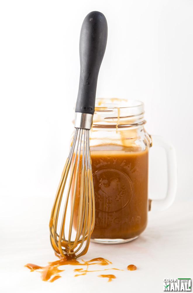 Homemade Salted Caramel Sauce