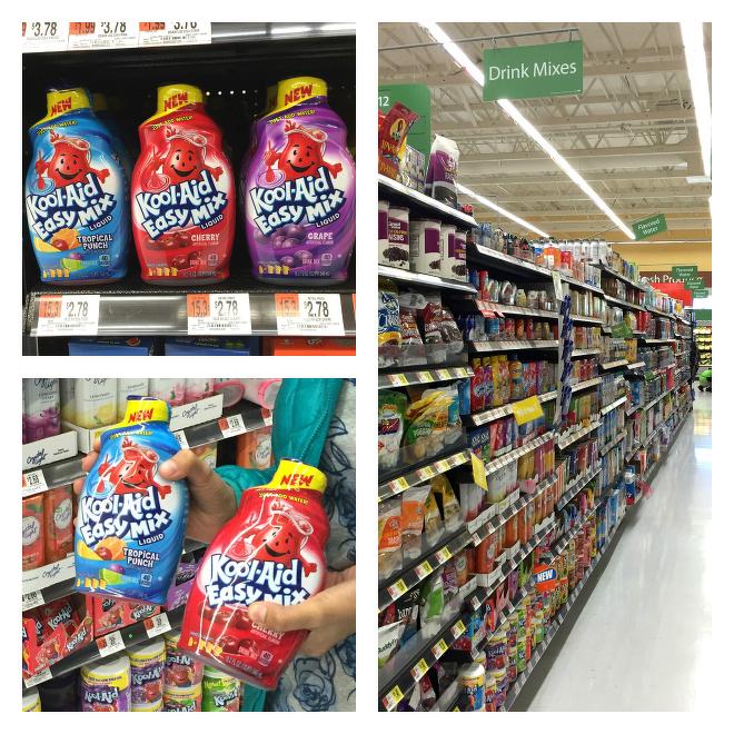 Kool Aid Easy Mix at Walmart