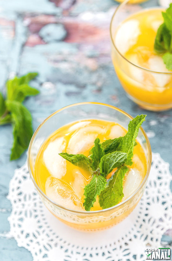 Mango Ginger Lemonade