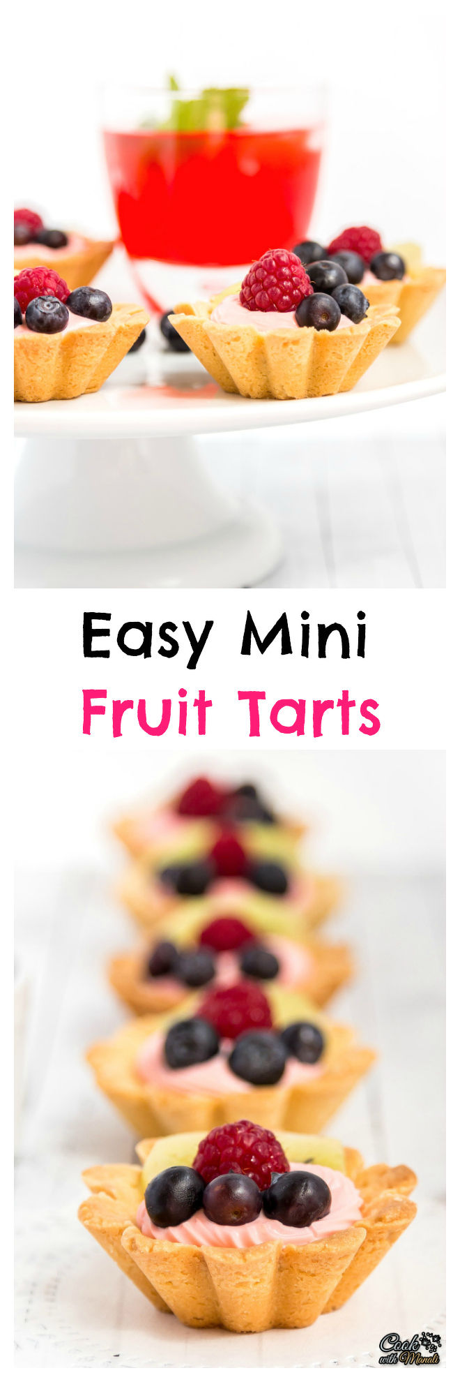Mini Fruit Tarts Collage-nocwm