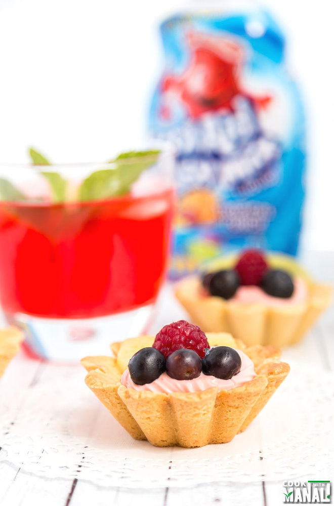 Mini Fruit Tarts Recipe
