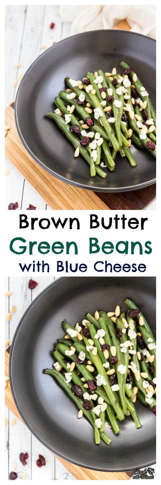 Brown Butter Green Beans with Blue Cheese Collage-nocwm