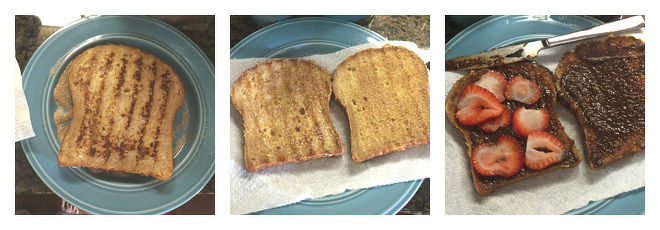 Nutella French Toast Recipe Step-4