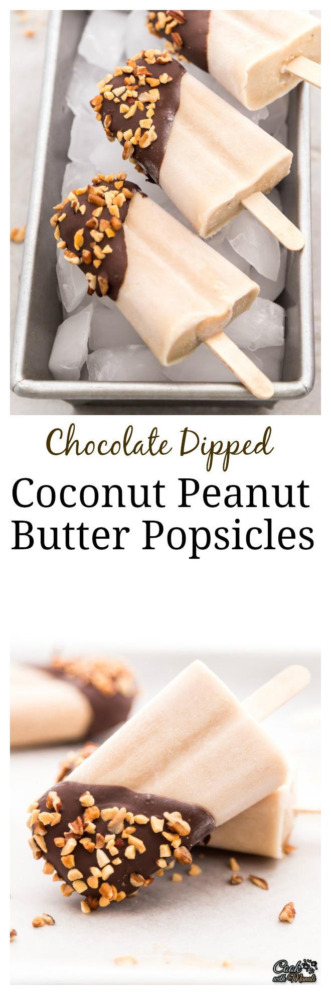 Coconut Peanut Butter Popsicles Collage-nocwm