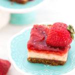Double Berry Cheesecake Bars