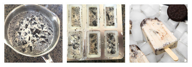 Oreo Popsicles Recipe-Step-2