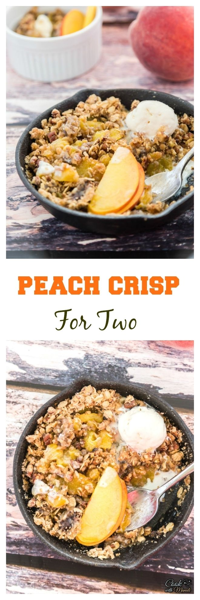 Peach Crisp For Two Collage-nocwm