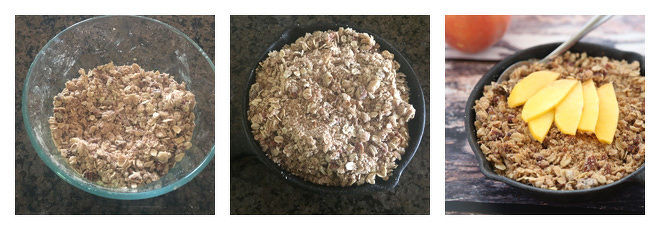 Peach Crisp For Two Recipe-Step-2