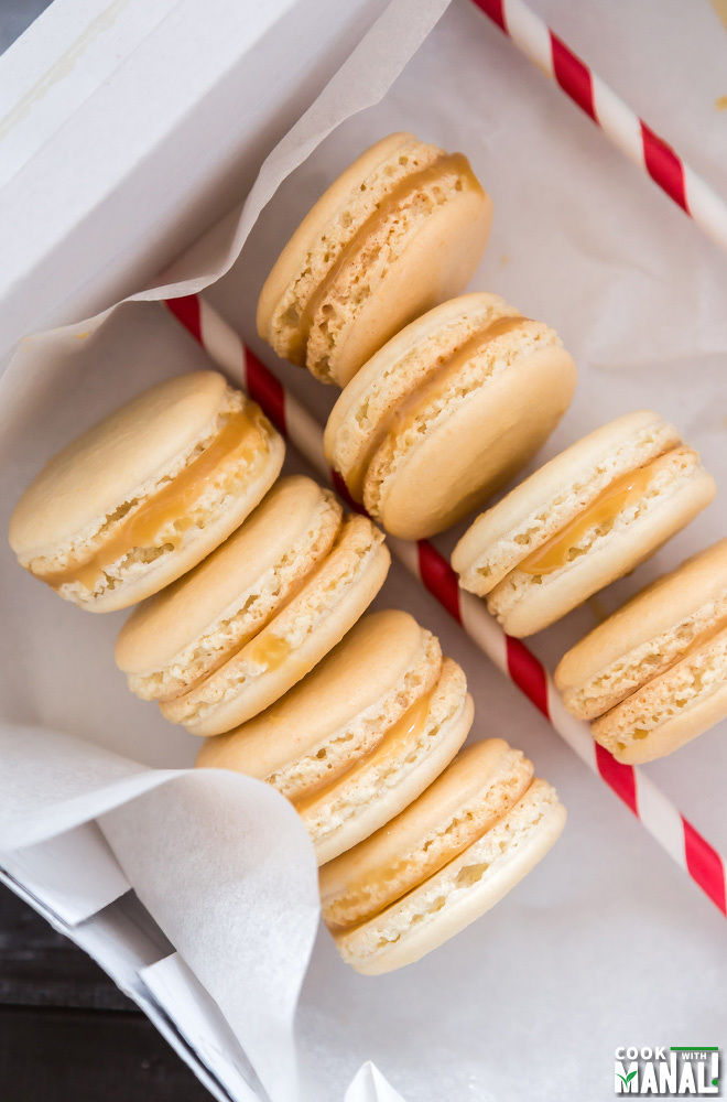 Salted Caramel Macarons Recipe