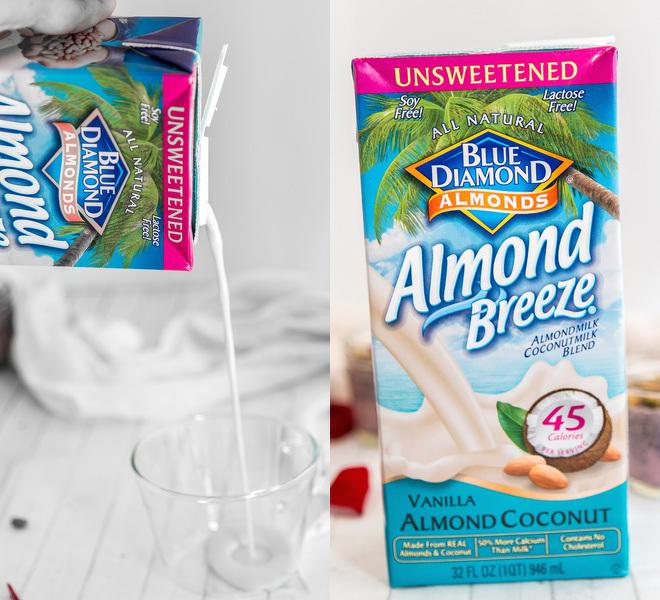 Blue Diamond Almond Breeze Almondmilk Coconut Milk Unsweetened