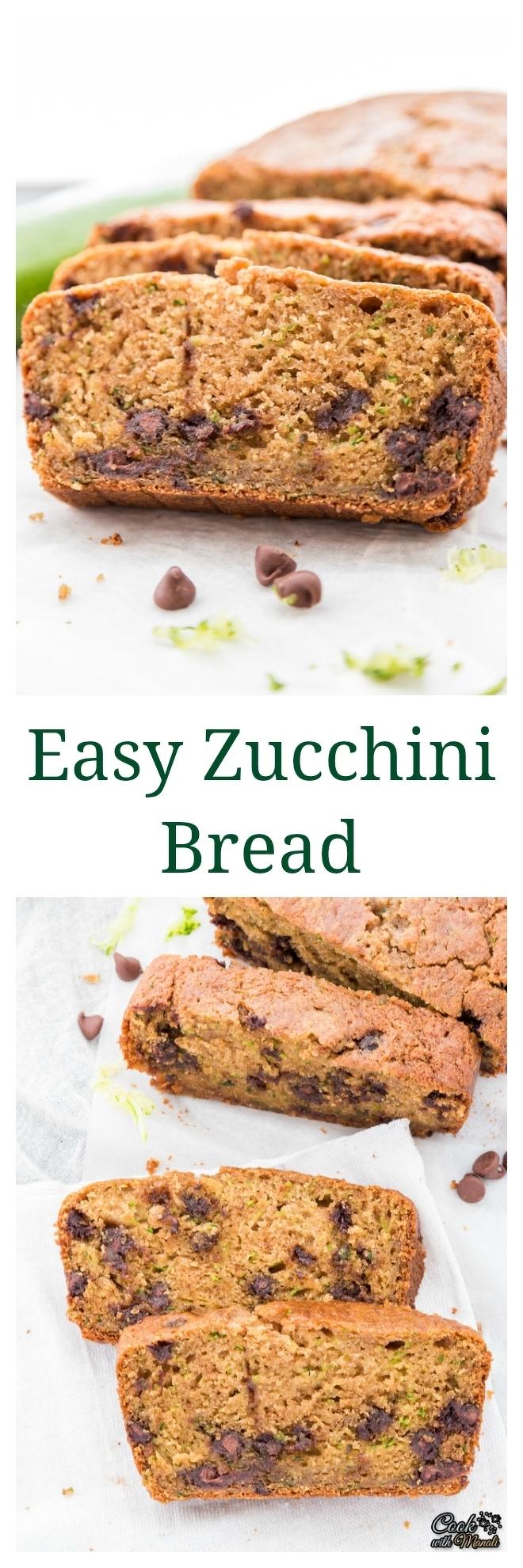 Easy Zucchini Bread Collage-nocwm