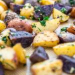 Herb Garlic Roasted Potatoes
