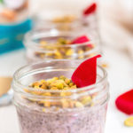 Rose Pistachio Chia Pudding