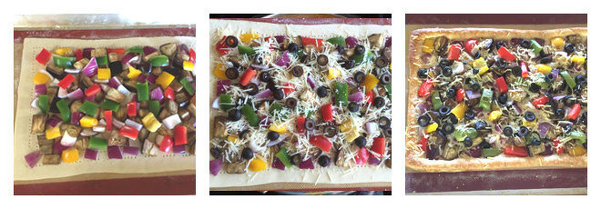 Vegetarian Puff Pastry Tart Recipe-Step-2
