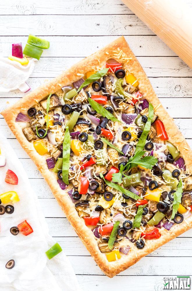 Vegetable pastry recipe easy