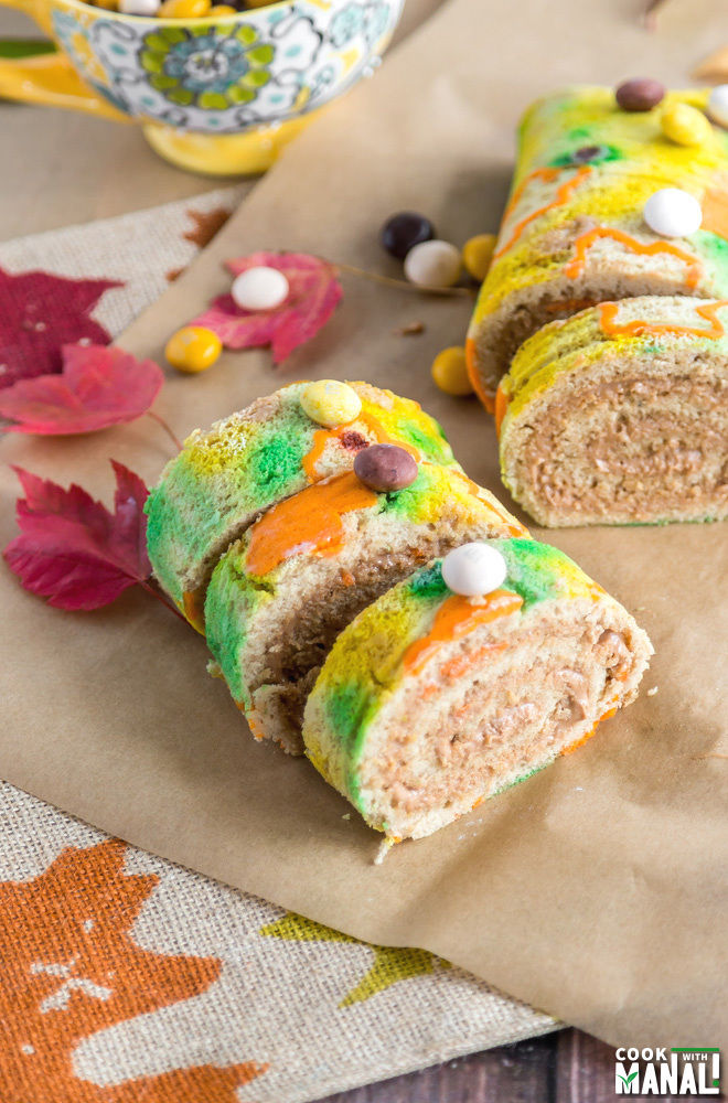 Cake Roll for Fall