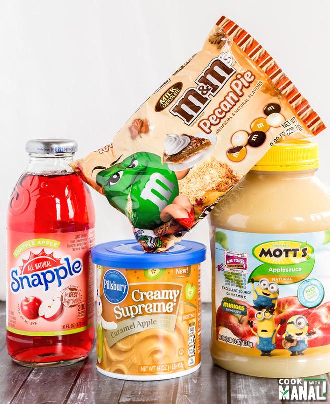 M&M's® Pecan Pie Mott's® Apple Sauce Pillsbury™ Supreme Creamy® Caramel Apple Frosting at Walmart