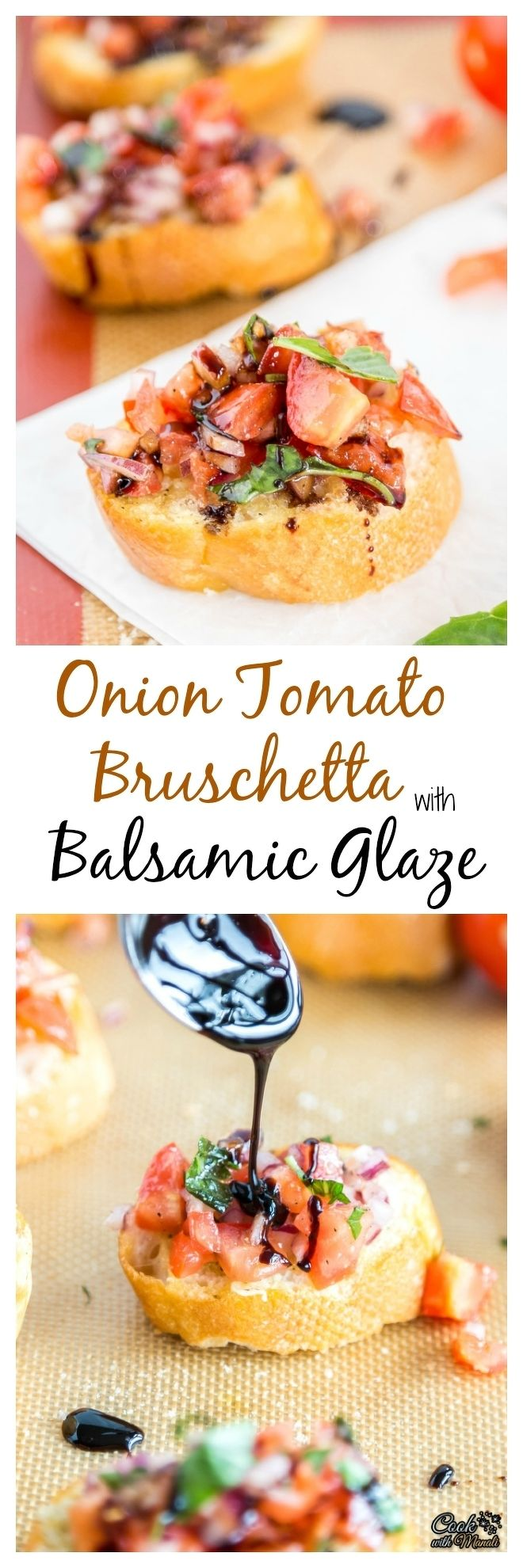 Onion Tomato Bruschetta with Balsamic Glaze-Collage-nocwm