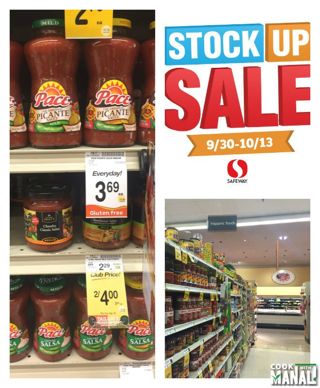 Pace Picante Salsa at Safeway