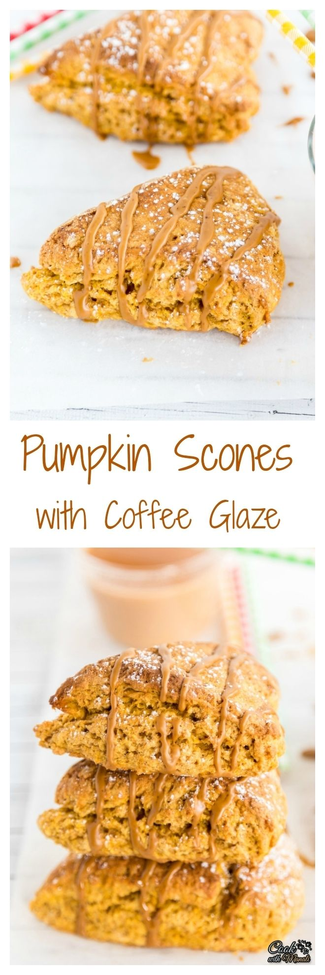 Pumpkin Scones with Coffee Glaze Collage-nocwm