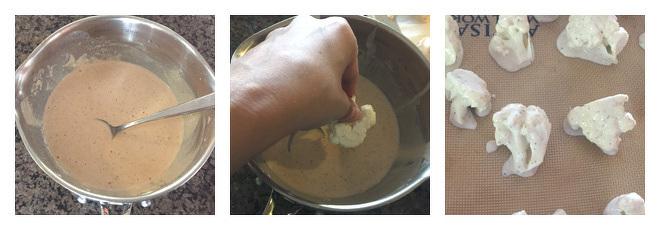 Spicy Cauliflower Wings Recipe-Step-1