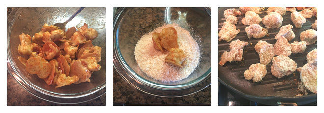 Spicy Cauliflower Wings Recipe-Step-2