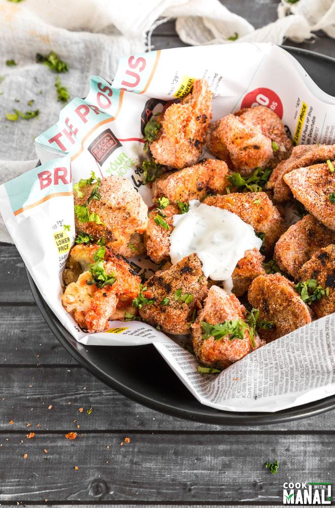 Spicy Cauliflower Wings Recipe