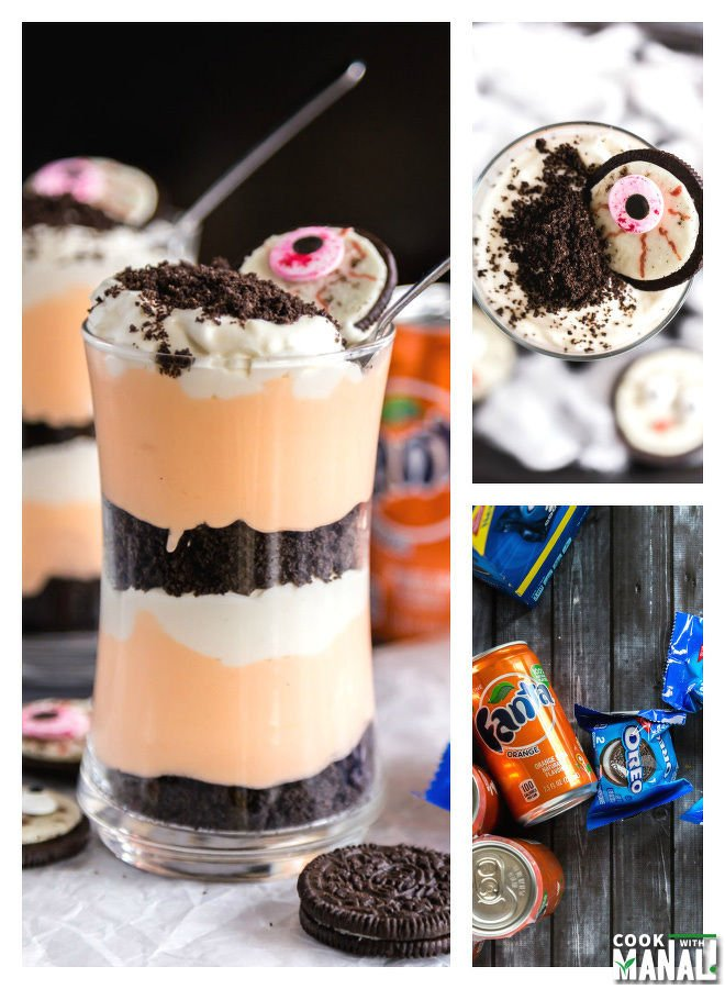 Halloween No Bake Oreo Cheesecake