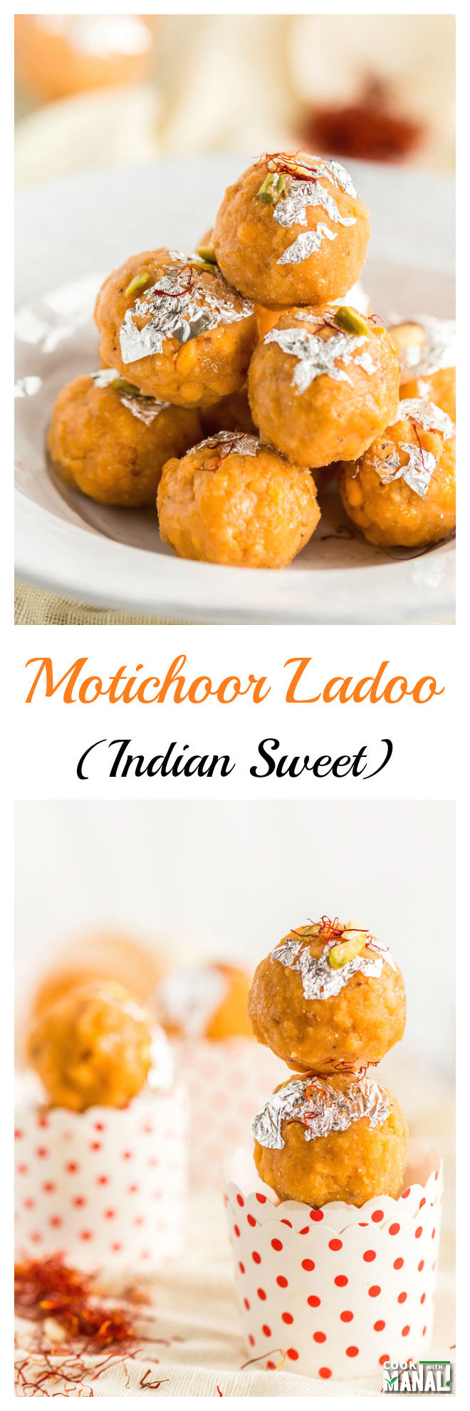 Motichoor Ladoo Collage
