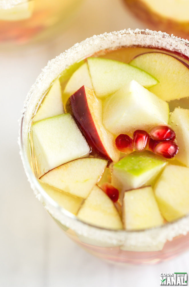 Non Alcoholic Apple Cider Sangria Recipe